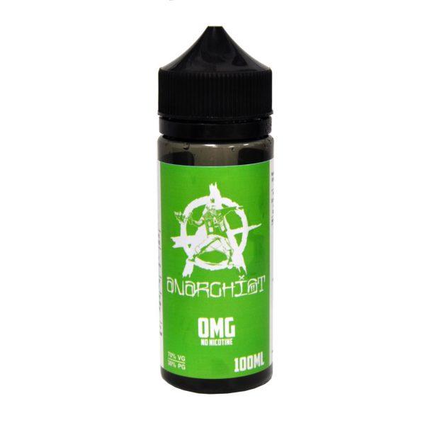 anarchist 100ml green eliquid