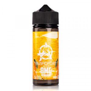 anarchist orange 100ml eliquid bottle